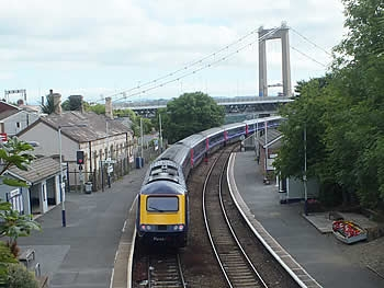Railway station, Saltash