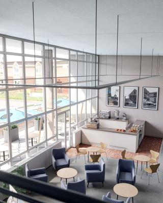 Photo Gallery Image - Designers Image STC Vision - View from Mezzanine Floor of Library Cafe
