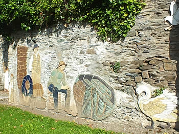 The Saltash Fisherfolk Mural