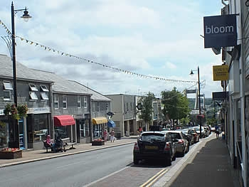 Photo Gallery Image - Fore Street looking down to the Tamar Bridge