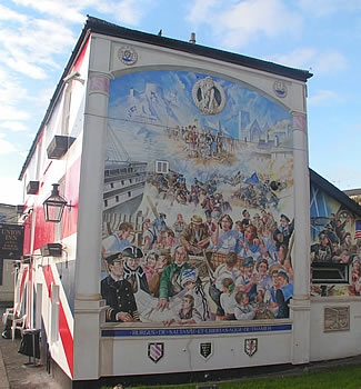 Photo Gallery Image - Mural at Waterside
