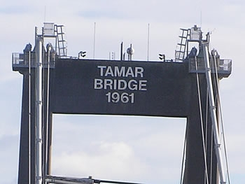 Photo Gallery Image - Tamar Bridge 1961